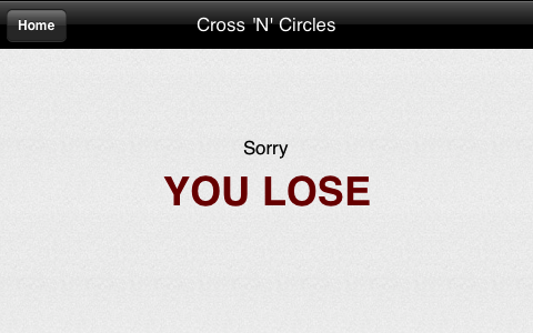 Screenshot Cross 'N' Circles